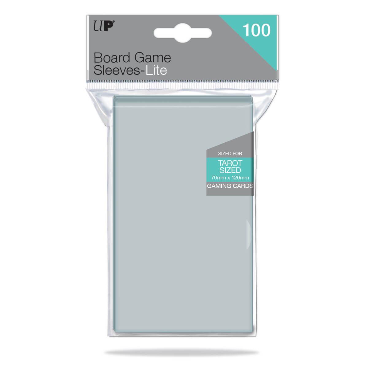 Lite Board Game Tarot Sleeves 70mm x 120mm 100ct