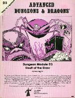 AD&D Module - D3 - Vault of the Drow