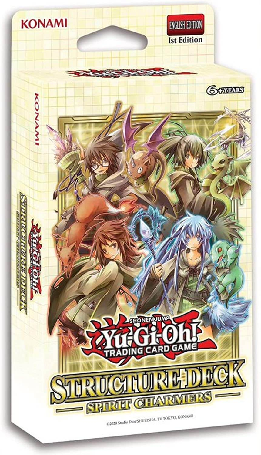 Yu-Gi-Oh: Spirit Charmers Structure Deck