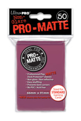 Ultra Pro: Standard Sleeves - Matte Blackberry (50ct)