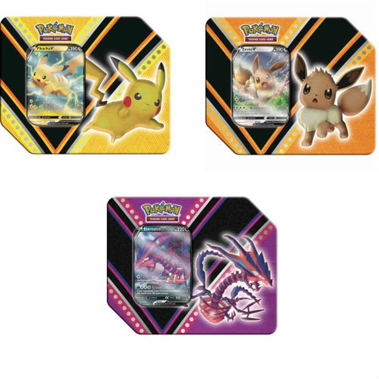 Pokemon - V Power Tin
