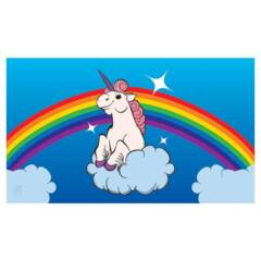 Rainbow Unicorn Playmat mat116