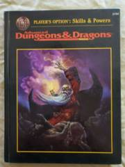 AD&D Dungeons & Dragons Player's Option: Skills and Powers