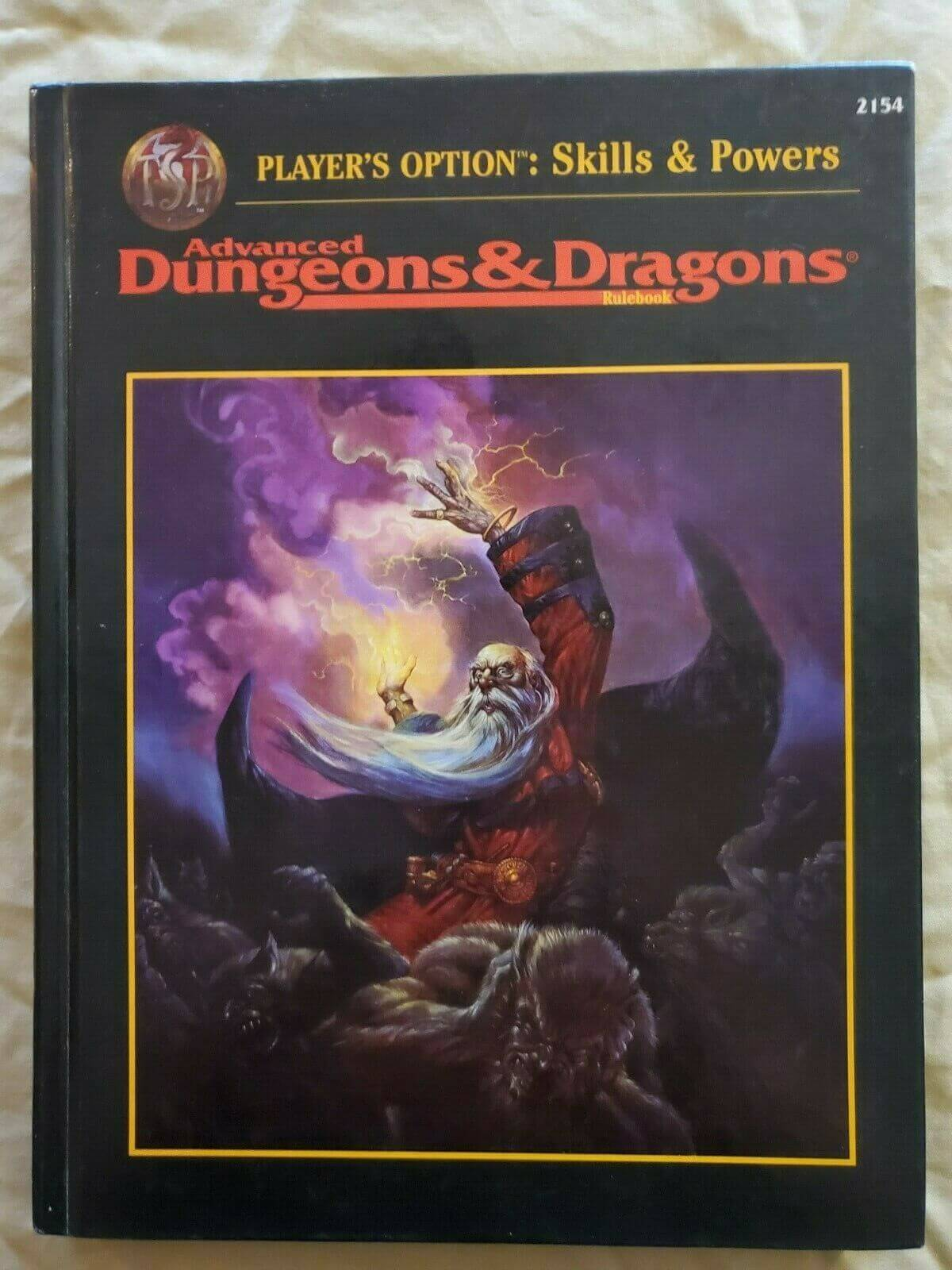 AD&D Dungeons & Dragons Players Option: Skills and Powers