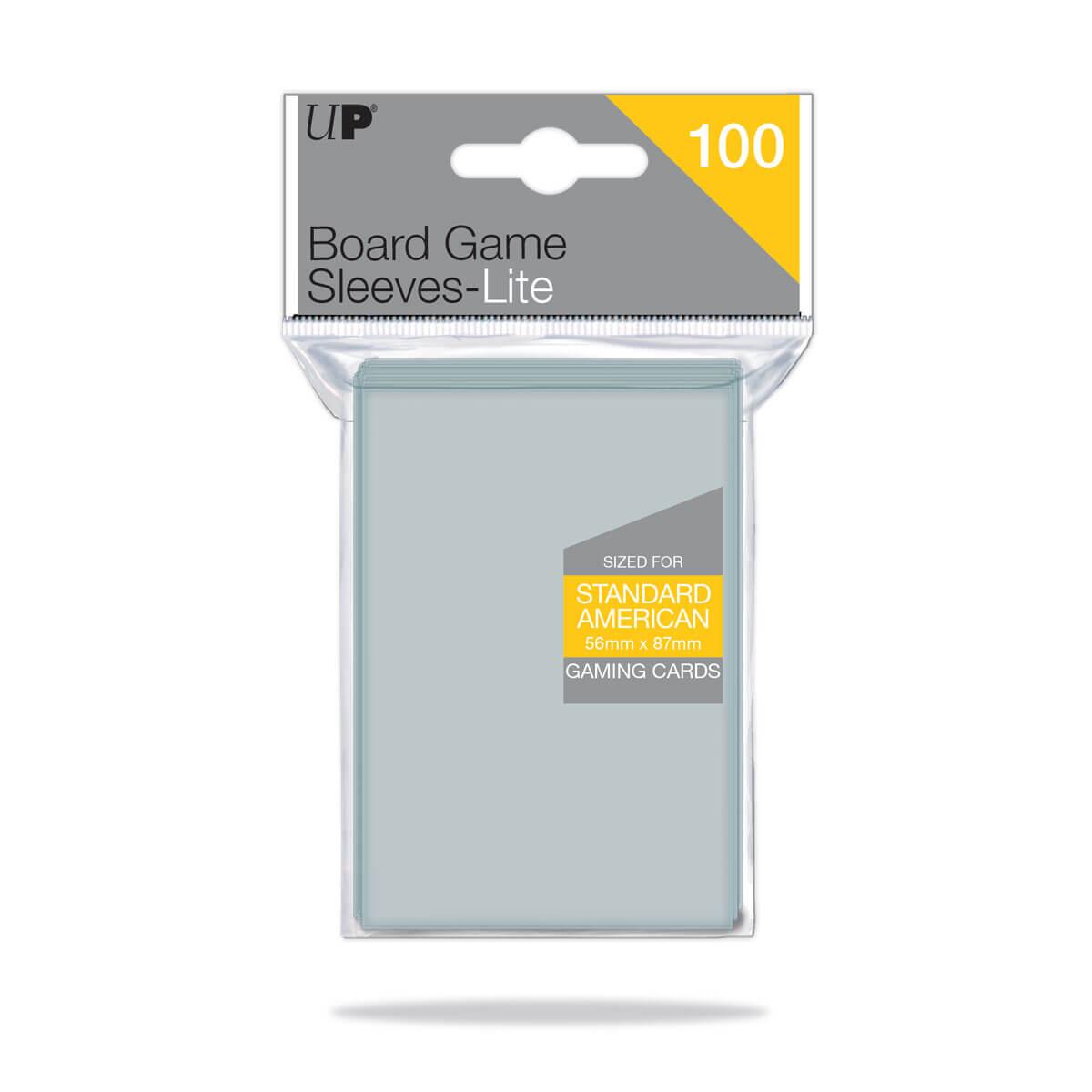 Lite Standard American Board Game Sleeves 56mm x 87mm 100ct