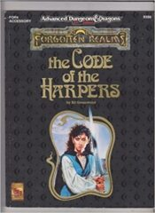AD&D Forgotten Realms: The Code of the Harpers
