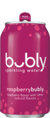 Bubly Sparkling Water - Raspberry