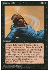 Drain life - 4th Edition - Black Border