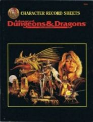 Advanced Dungeons And Dragons Character Record Sheets