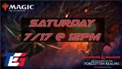 Saturday 7/17 Adventures in the Forgotten Realms Prerelease 12PM