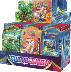 Pokemon: Sword & Shield Theme Deck Display
