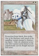 White Knight - 3rd Edition - Black Border