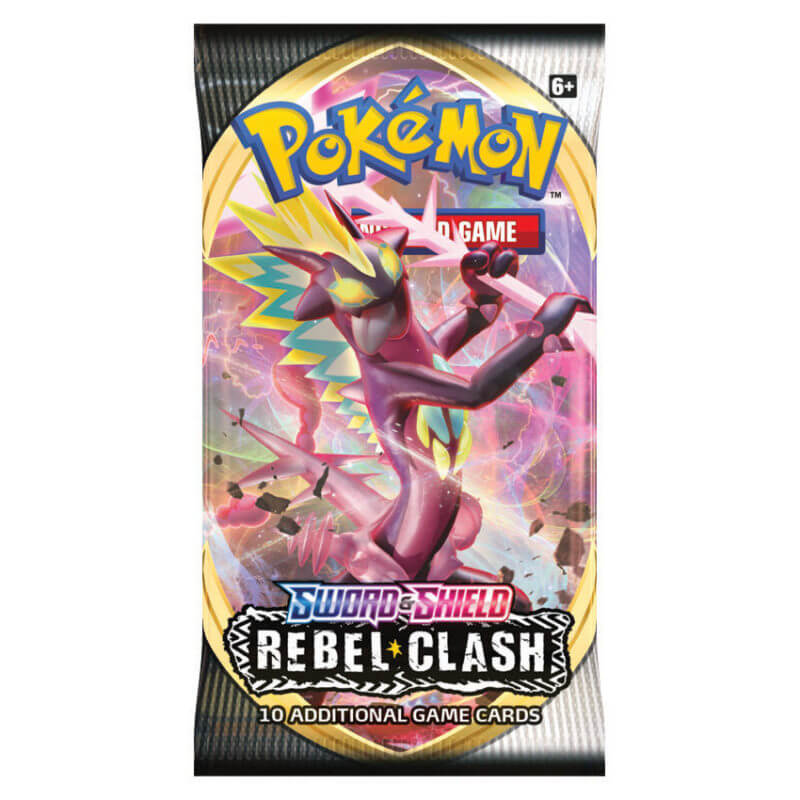 Pokemon - Sword & Shield: Rebel Clash Booster Pack