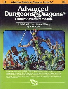 AD&D Module - I2 - Tomb of the Lizard King