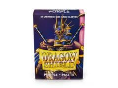 Dragon Shield 60ct Japanese Matte Purple Card Sleeves