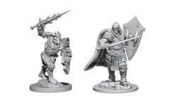 Dungeons & Dragons Nolzur`s Marvelous Unpainted Miniatures: Death Knight & Helmed Horror