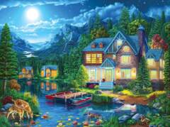 House Near the Lake 1000pc Puzzle