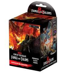 Dungeons & Dragons Fantasy Miniatures: Icons of the Realms Set 15 Fangs and Talons Booster Pack