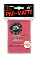 Ultra Pro: Standard Sleeves - Matte Fuchsia (50ct)