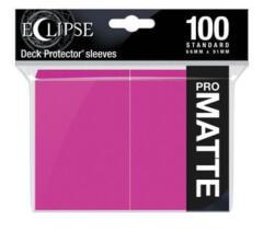 Ultra Pro Eclipse Hot Pink Matte 100ct