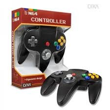 Controller for N64 (Black) CIRKA