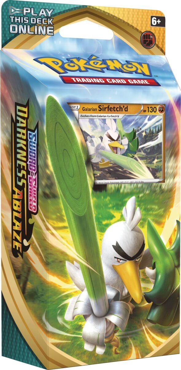 Pokemon - Sword & Shield: Darkness Ablaze Galarian Sirfetchd Theme Deck