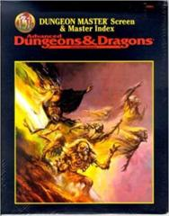 Advanced Dungeons & Dragons Dungeon Master Screen & Master Index