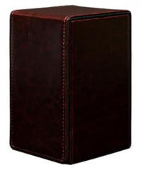 Cowhide Alcove Tower Deck Box