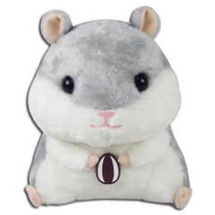 Great Eastern GE-52152 Hamster: Gray Hamster Holding Sunflower Seed Plush, 8