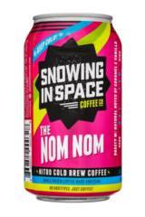 Snowing in Space The Nom Nom