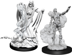 Dungeons & Dragons Nolzur`s Marvelous Unpainted Miniatures: W11 Lich & Mummy Lord