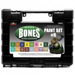09981 - Reaper Bones Ultra-Coverage Paint Set #6