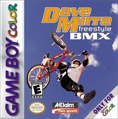 Nintendo Gameboy Color: Dave Mirra: Freestyle BMX