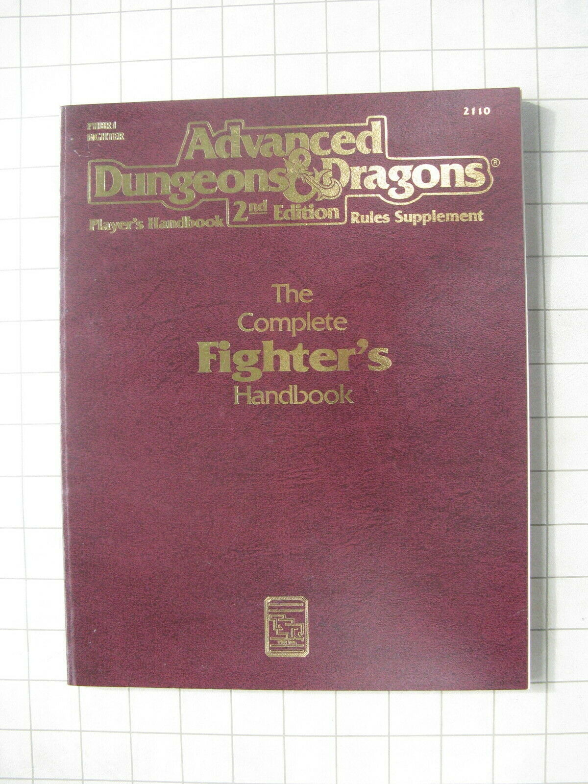 COMPLETE FIGHTERS HANDBOOK AD&D 2E D&D Dungeons & Dragons