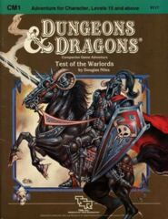 D&D Companion Game Adventure: Test of the Warlords