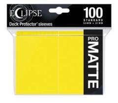 Ultra Pro Eclipse Lemon Yellow Matte 100ct