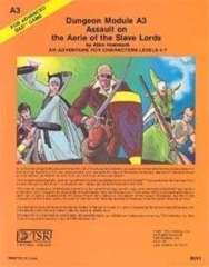 AD&D Module - A3 - Assault on the Aerie of the Slave Lords