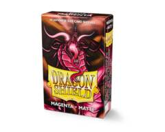 Dragon Shield 60ct Japanese Matte Magenta Card Sleeves