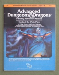 Advanced Dungeons and Dragons: Oasis of the White Palm