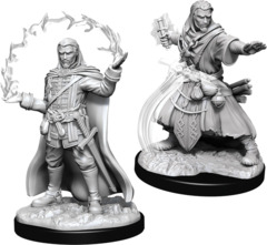 Dungeons & Dragons Nolzur`s Marvelous Unpainted Miniatures: Human Male Wizard