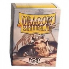 Dragon Shield: Standard Sleeves - Ivory Matte (100 ct)