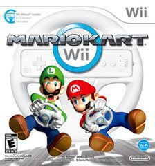 Mario Kart Wii - With Driving Wheel