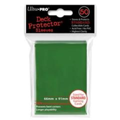 Ultra Pro: Standard Sleeves - Green (50ct)