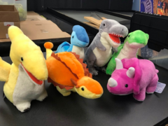 Dinosaur Plushies That Are Shaped Like Friends :)