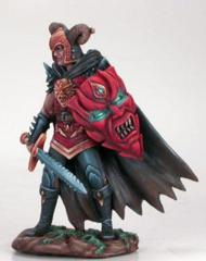 Male Anti-Paladin with Bastard Sword and Shield DSM-4102