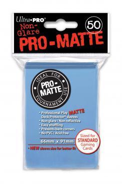 Ultra Pro Standard Sleeves - Matte Light Blue (50ct)
