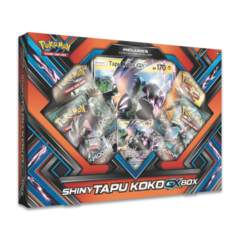 Shiny Tapu Koko GX Box