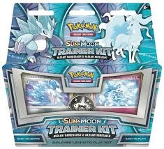 Pokemon - Sun & Moon Trainer Kit - Alolan Sandslash & Alolan Ninetales