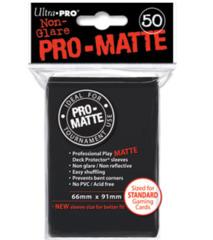 Ultra Pro: Standard Sleeves - Matte Black (50ct)