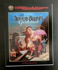 AD&D Dungeon Builder's Guidebook TSR 9556